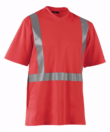 Blaklader 3382 High Visibility T-Shirt (Red)